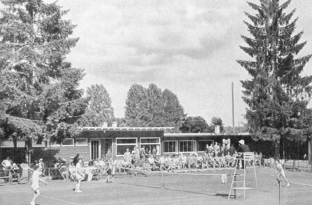 Tennis, der weiße Sport. Seit 100 Jahren wird auf der Waldau Tennis gespielt.   Foto: privat