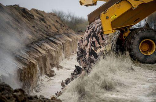 Leichen gekeulter Nerze könnten wieder ausgegraben werden