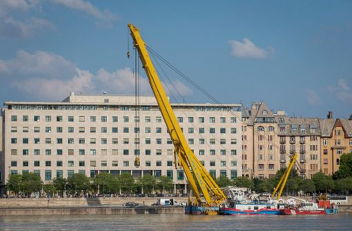 Leichen aus gesunkenem Donau-Schiff geborgen