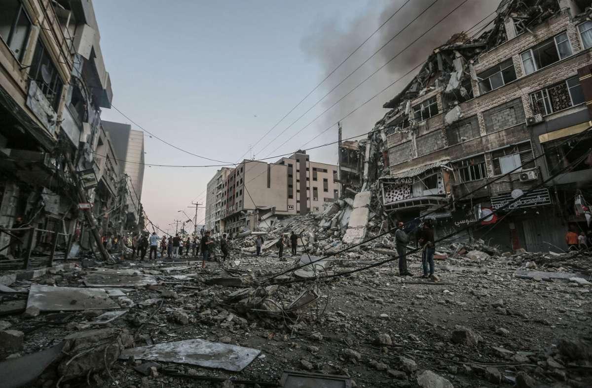 Der Konflikt in Nahost spitzt sich zu. Foto: dpa/Mohammed Talatene