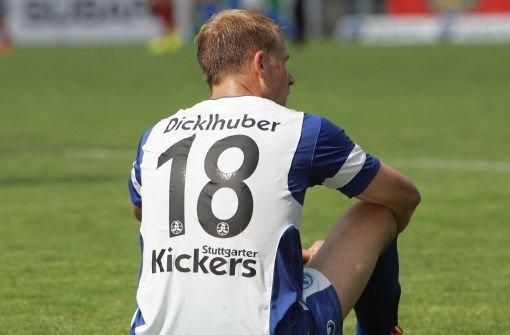 Stuttgarter Kickers mit drei Ausfällen