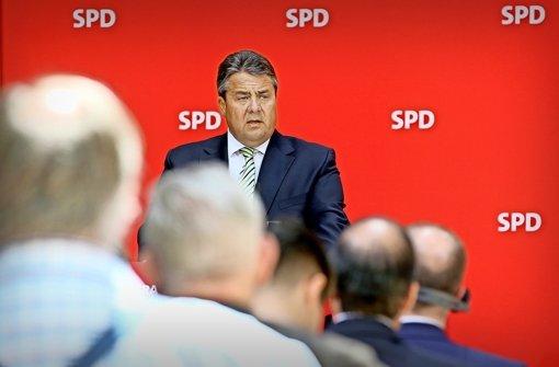 Gabriel stellt der SPD  die Vertrauensfrage