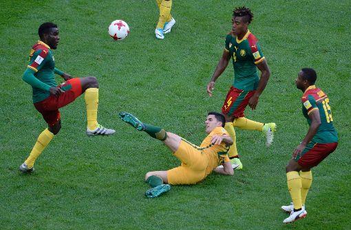 Kamerun nur 1:1 gegen Australien