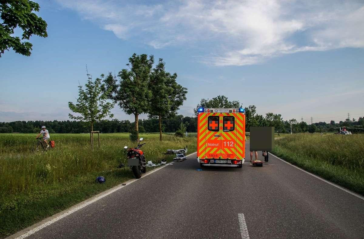Wahrscheinlich hatte der Mann zu wenig Fahrerfahrung. Foto: SDMG/Dettenmeyer