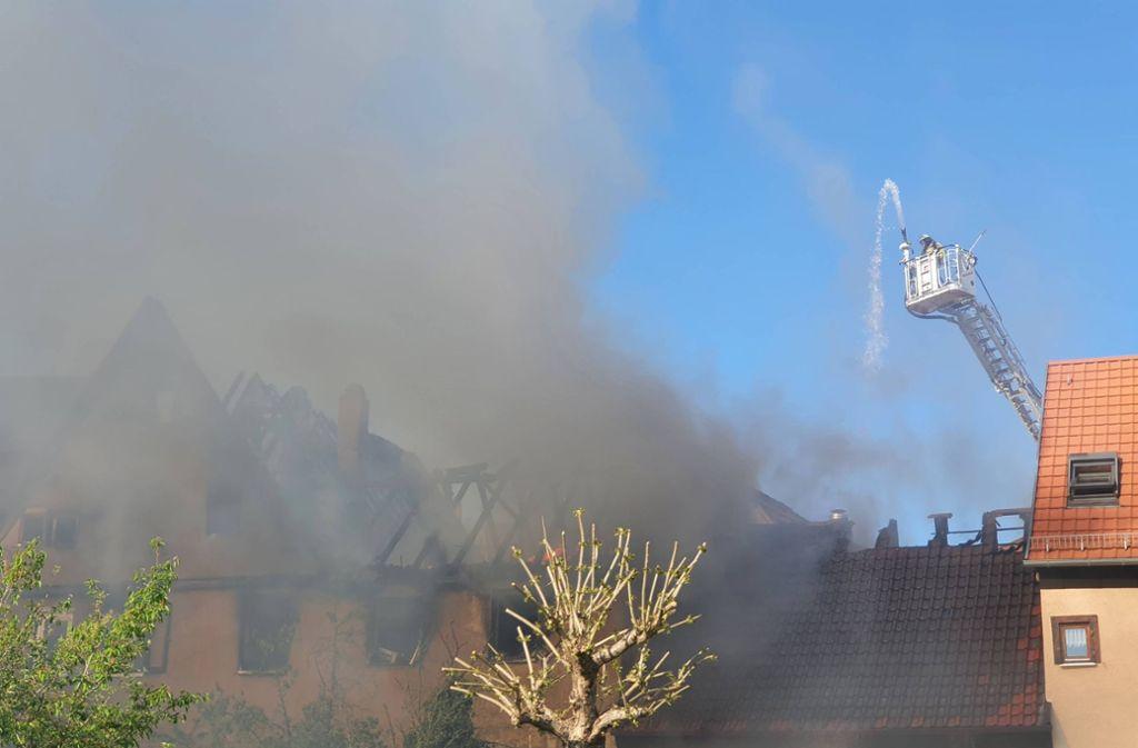 Verletzt wurde bei dem Brand niemand, doch es entstanden 300.000 Euro Schaden. Foto: 7aktuell.de/ JB/7aktuell.de | JB
