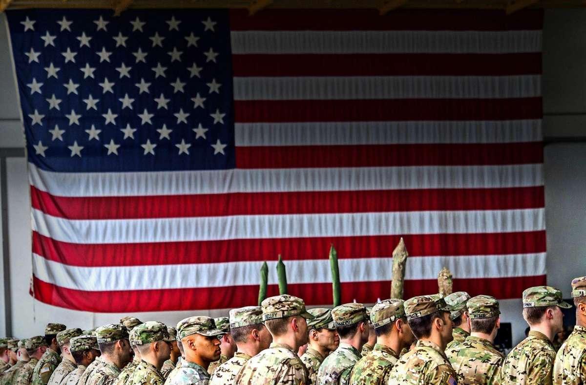 Viele Regionen leben gut mit den US-Soldaten – in der Oberpfalz ist der Kahlschlag besonders drastisch. Foto: dpa/Nicolas Armer