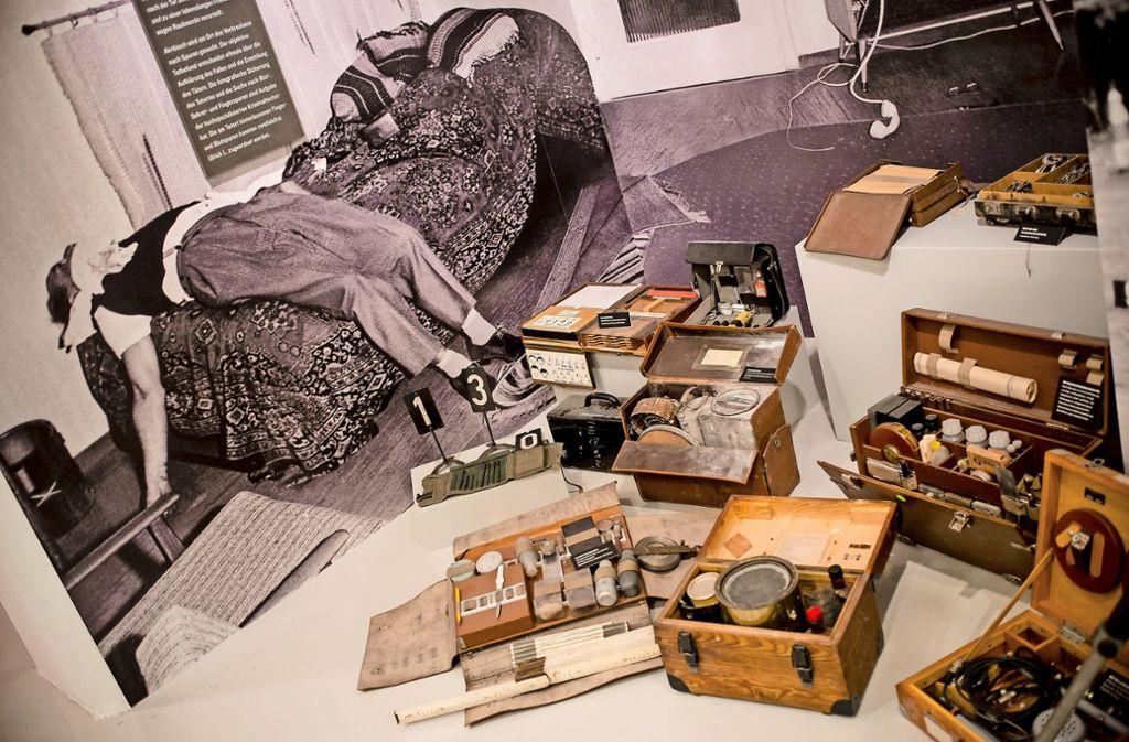 Echte Morde: das Stuttgarter Polizeimuseum boomt. Foto: