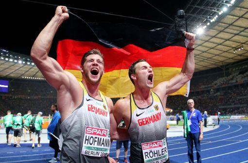 Deutsche Speerwerfer Röhler und Hofmann mit Doppelsieg