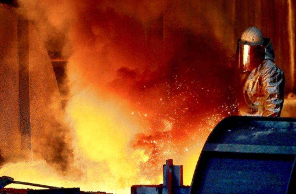 In Deutschland arbeiten laut BDI  900.000 Menschen in energieintensiven Betrieben. Foto: dpa