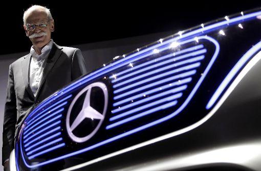 Daimler-Chef Zetsche gibt sich schmallippig