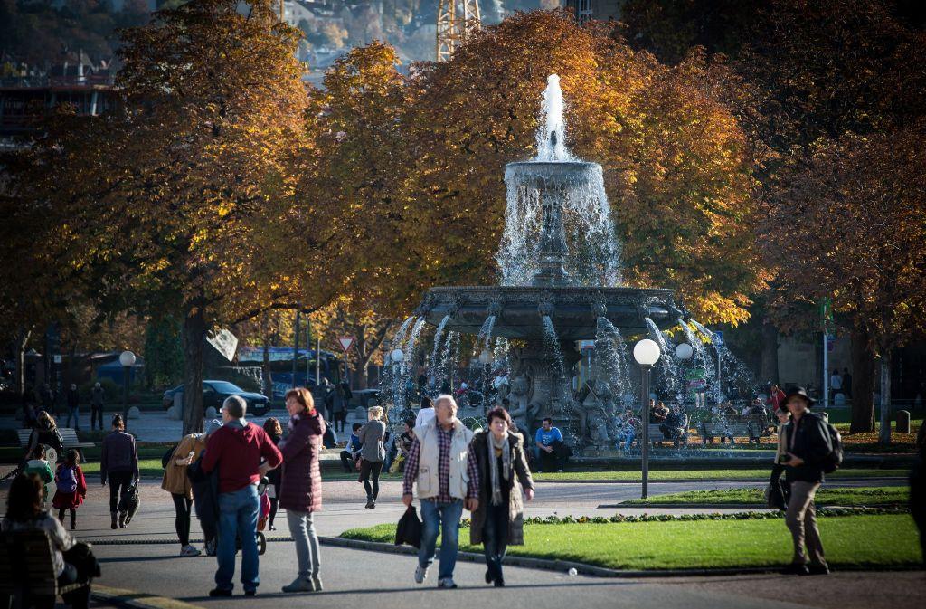 Spannend wird es am Wochenende unter anderem am Stuttgarter Schlossplatz. Foto: Lichtgut/Achim Zweygarth