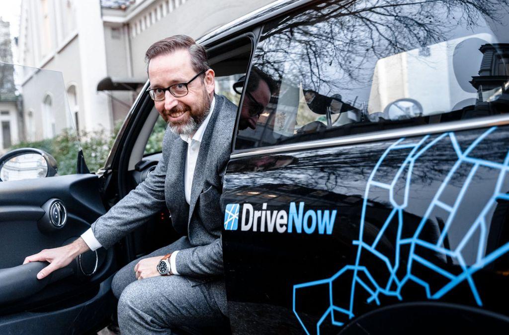 Sebastian Hofelich, Geschäftsführer von DriveNow Foto: dpa
