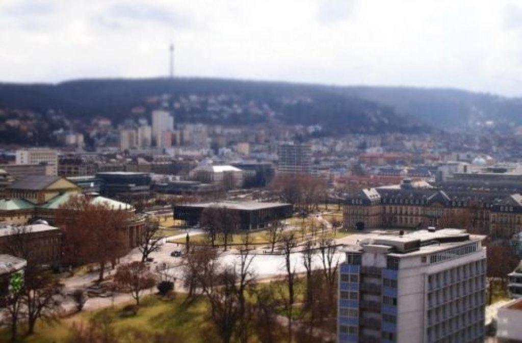 Neben dem Stuttgarter Landtag wird ein unterirdisches Bürger- und Medienzentrum entstehen. Foto: Leserfotograf burgholzkaefer