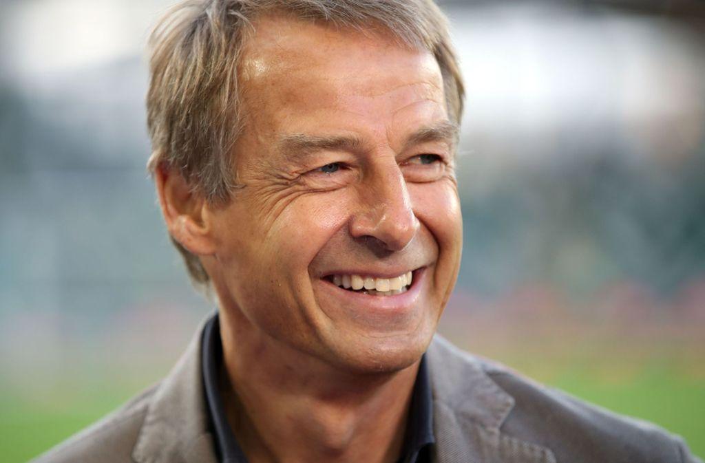 Jürgen Klinsmann ist bereits seit mehreren Jahren Vereinsmitglied bei der Hertha. Foto: picture alliance/dpa/Christian Charisius