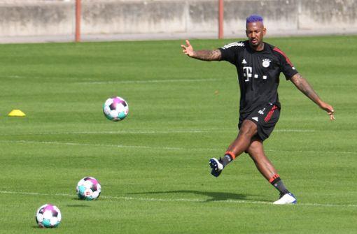 Jérôme Boateng verrät Grund für lila Haare