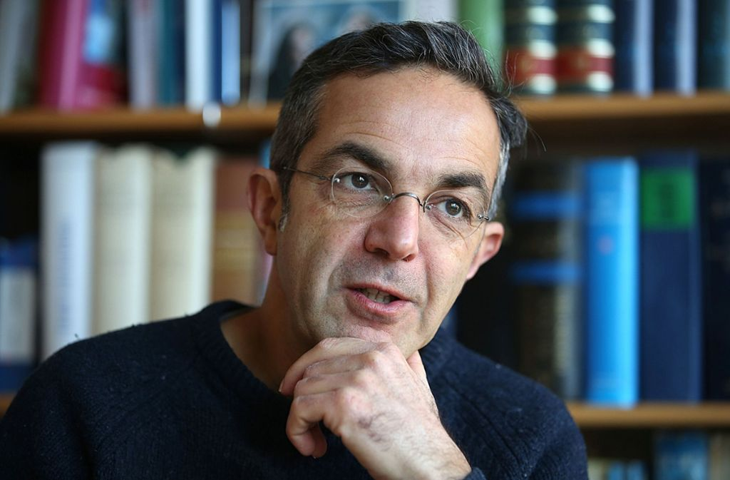 Ekstase-Forscher: Der Autor Navid Kermani war zu Gast im Stuttgarter Literaturhaus. Foto: dpa