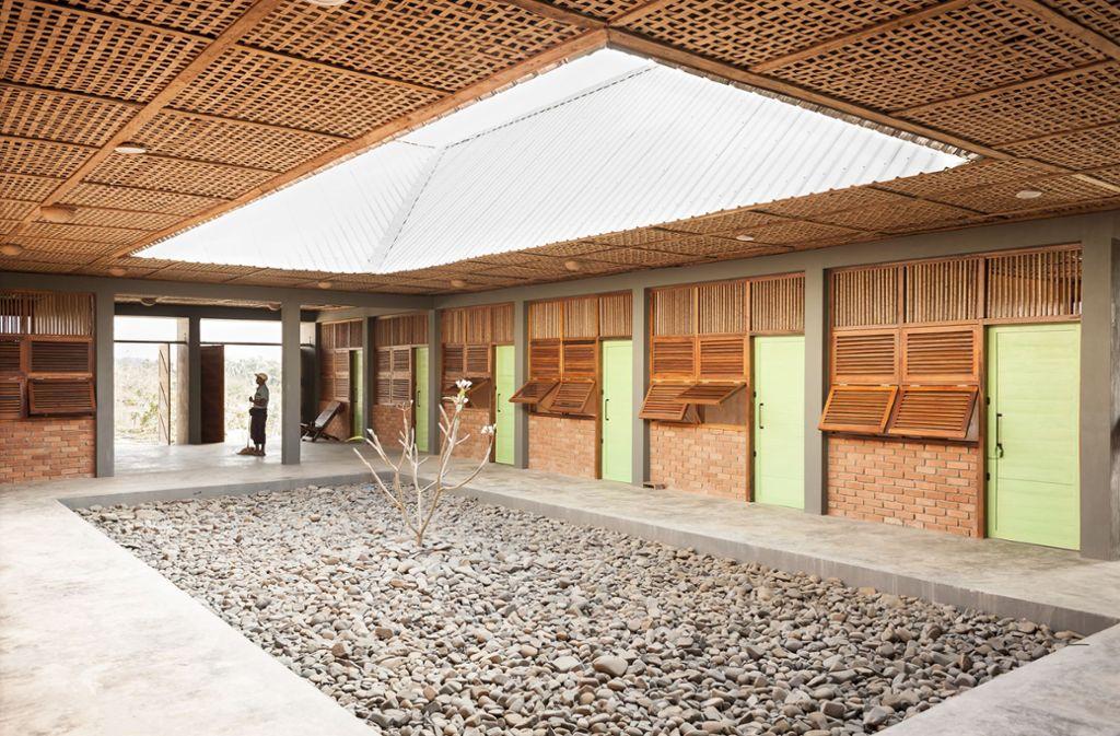 Magyizin Hospital in Myanmar von Ackermann + Raff aus Stuttgart Foto: Oliver Gerhartz