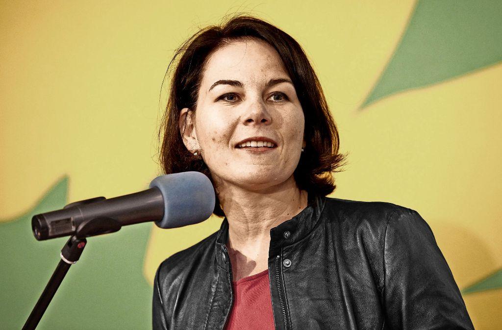 Annalena Baerbock steht für  Erneuerung und eine neue Generation bei den Grünen. Foto: dpa