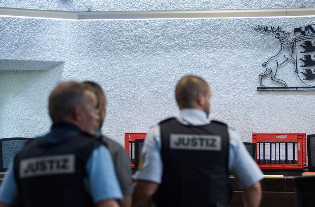 Mehrere Kammern des Landgerichts Stuttgart sind durch Großprozesse blockiert. Foto: dpa