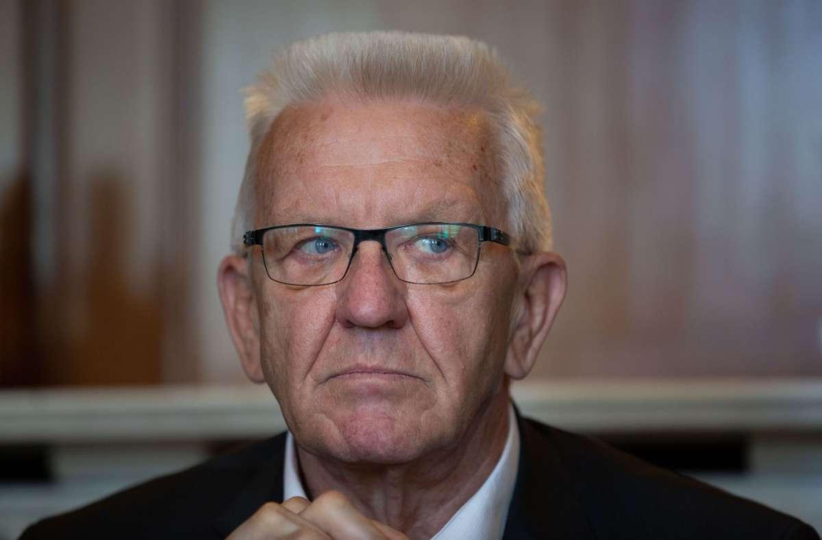"Winfried Kretschmann sagt: ""Bildung ist Ländersache."" Foto: LICHTGUT/Leif Piechowski/Leif Piechowski"