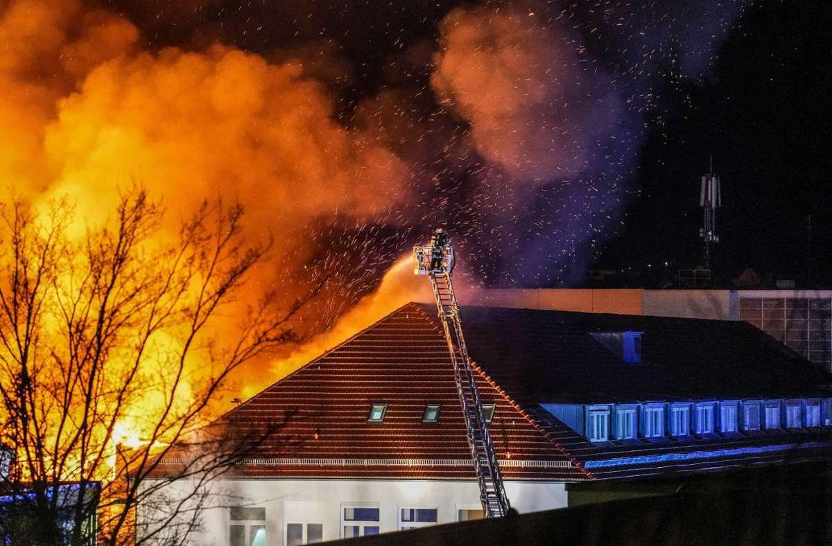 Die Brandursache ist derzeit noch unklar. Foto: SDMG