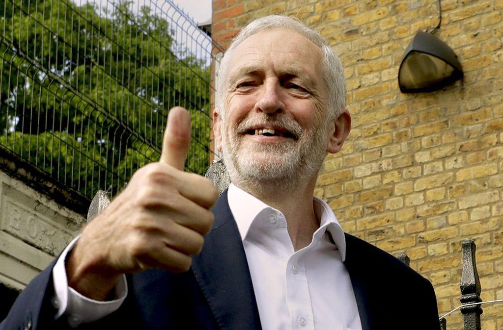 Die Kritik an Labourchef Jeremy Corbyn wird stärker. Foto: AP/Kirsty Wigglesworth
