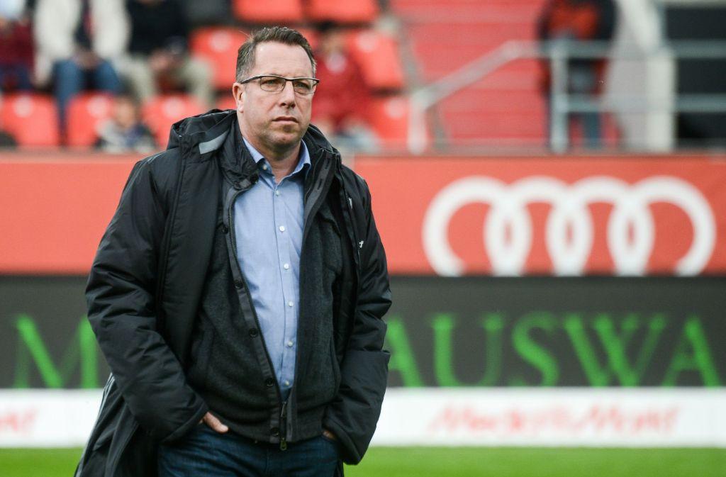 """Markus Kauczinski ist laut """"Kicker"""" nicht mehr Trainer des FC Ingolstadt. Foto: dpa"""