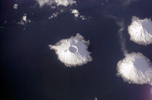 Forscher entdecken Hinweise für Supervulkan vor Alaska