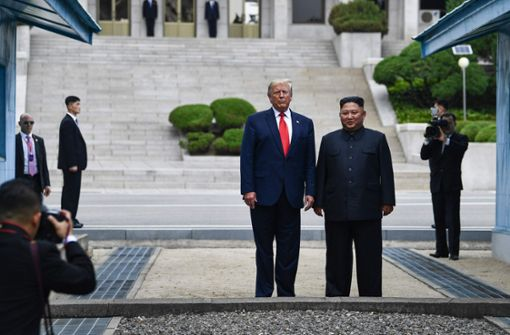 Trump trifft Kim an innerkoreanischer Grenze