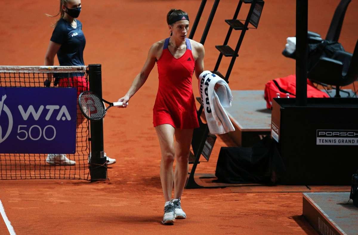 Tennis-Spielerin Andrea Petkovic. Foto: Pressefoto Baumann/Alexander Keppler