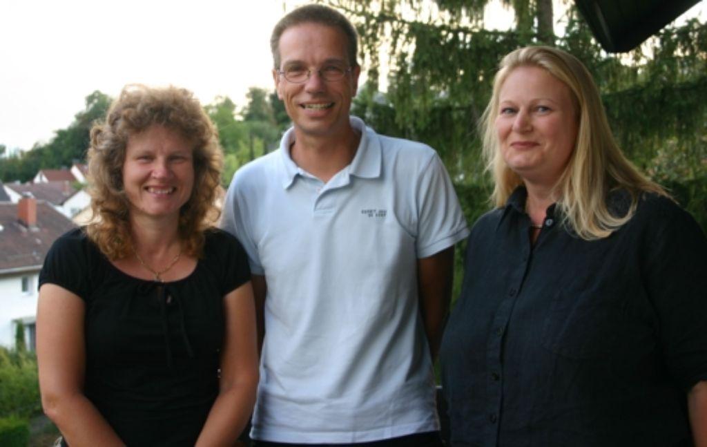 Aktiv beim Bürgerverein Dachswald: die Vorsitzende Sigrid Beckmann, Schriftführer  Frank Beckmann und  Beisitzerin Susanne Trumpp Foto: Kai Müller