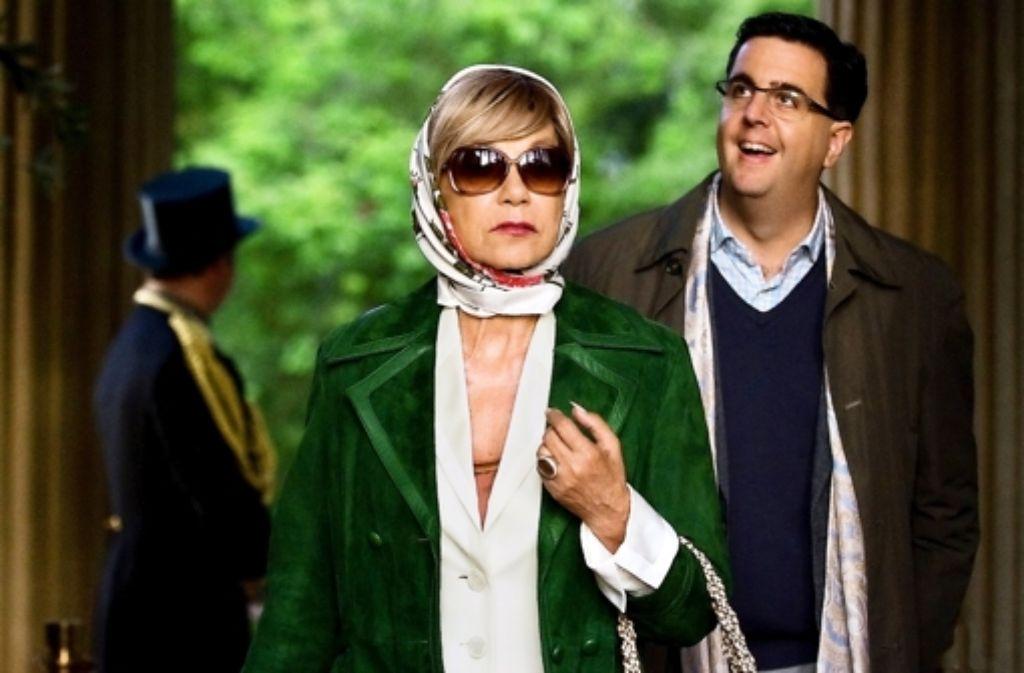 Mutter und Sohn: Judy Winter und Bastian Pastewka Foto: ZDF