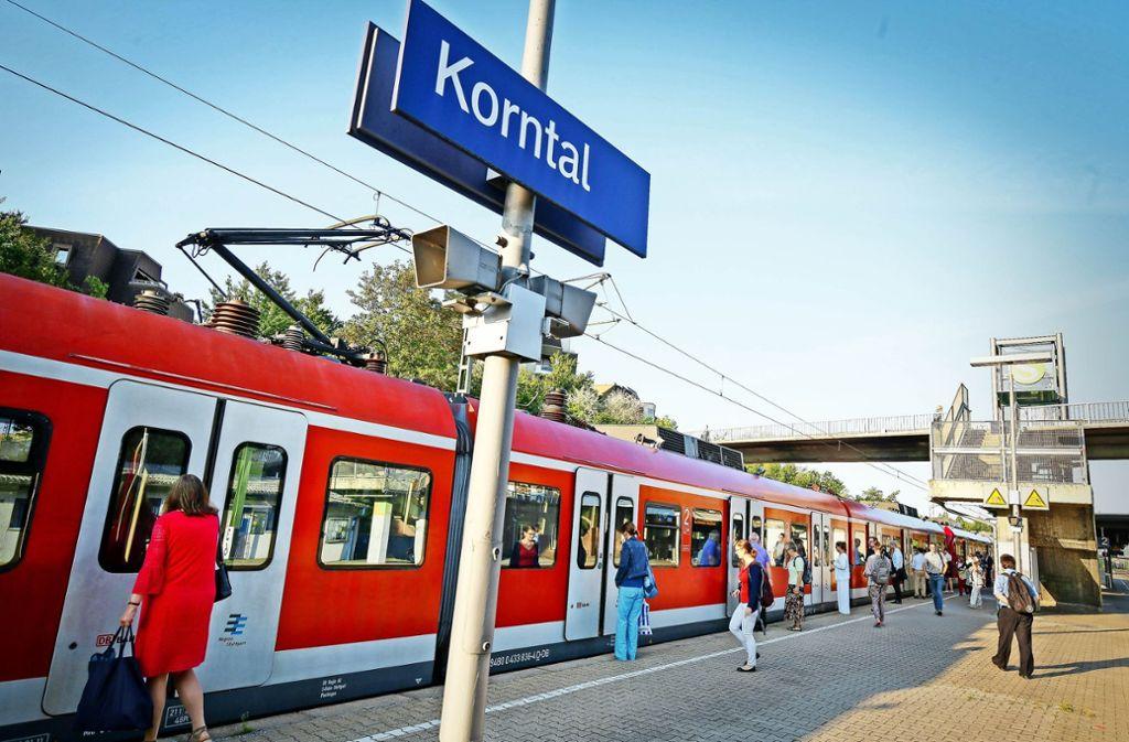 Der Regionalverband setzt auf einen dichteren Takt bei der S 6, im Kreis will man die Strohgäubahn verlängern.. Foto: factum/Granville