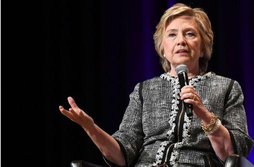 Hillary Clintons Auftritt in Berlin