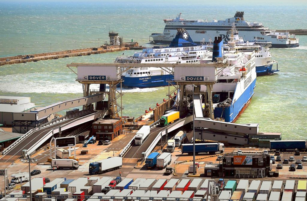 Der Hafen von Dover ist das Nadelöhr für den Warenverkehr zwischen dem EU-Festland und Großbritannien. Foto: dpa