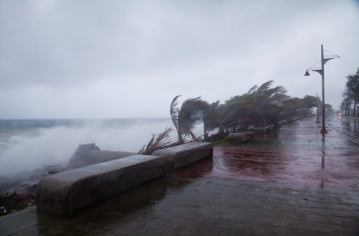 """Mehr als 30 Tote bei Tropensturm """"Erika"""""""