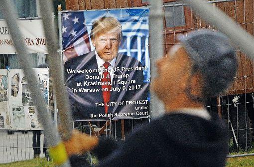 Warschau feiert Besuch Trumps als Erfolg