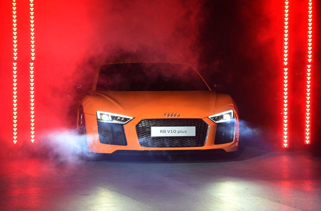Die Produktion des Sportwagens R8 soll auslaufen. Foto: dpa