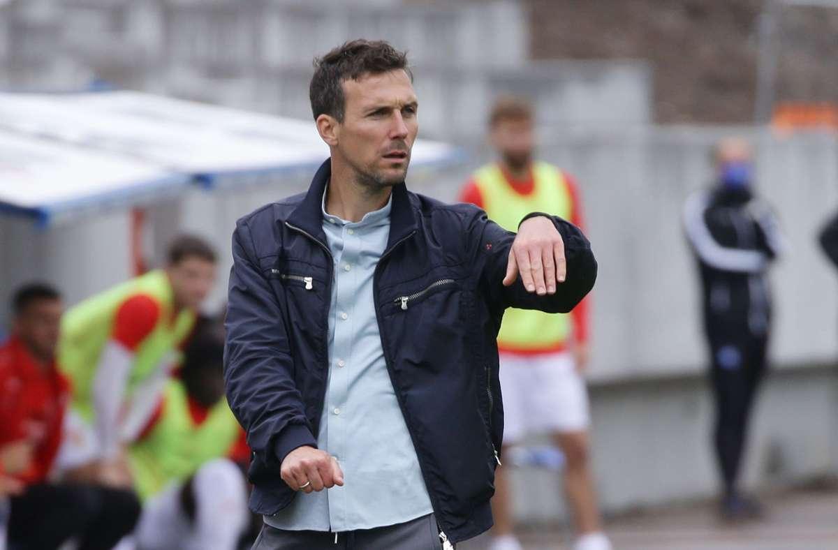 Christian Eichner, Trainer des Karlsruher SC. (Archivbild) Foto: Pressefoto Baumann/Hansjürgen Britsch
