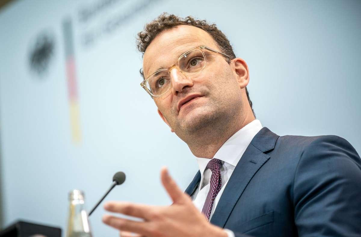 Bundesgesundheitsminister Jens Spahn will das Angebot an Coronavirus-Tests erweitern. (Archivbild) Foto: dpa/Michael Kappeler