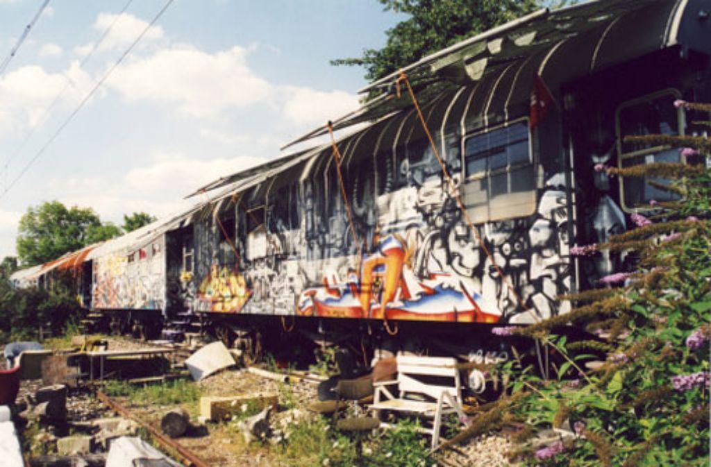 Die Waggons am Nordbahnhof. Foto: StZ