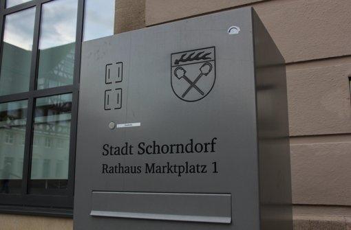 Im Schorndorfer Rathaus werden Sparvorschläge mit Zahlungen in Höhe von bis zu 10000 Euro belohnt. Foto: Pascal Thiel