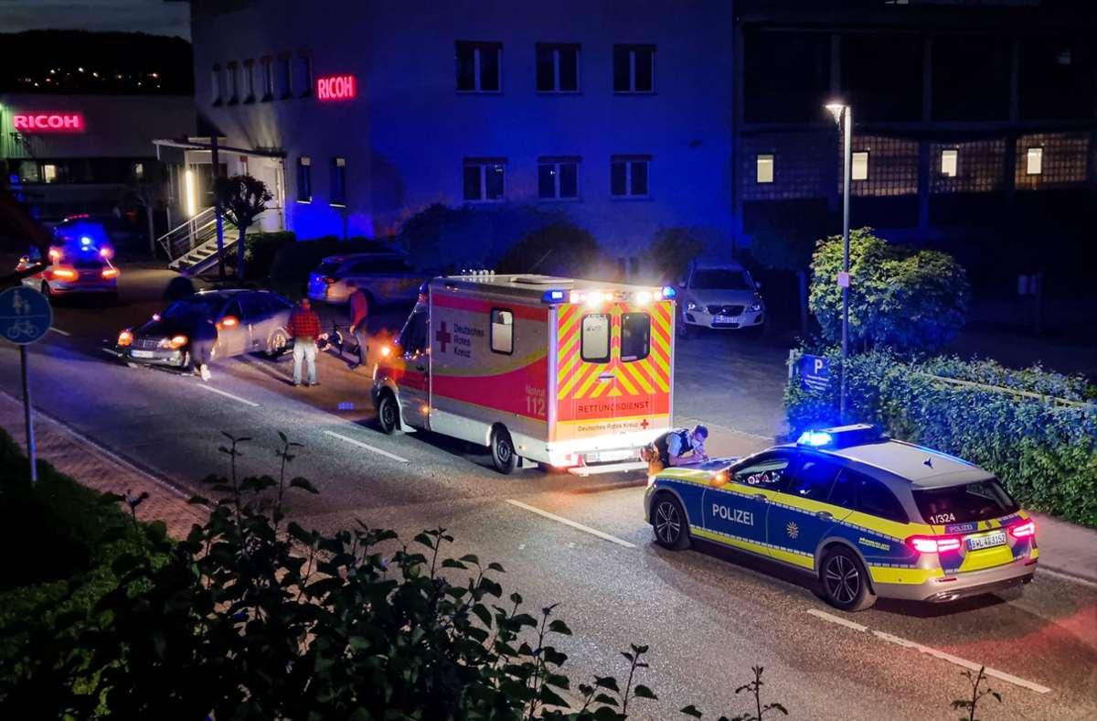 Die beiden jungen Motorradfahrer wurden bei dem Unfall schwer verletzt. Foto: 7aktuell.de/ JB/7aktuell.de | JB