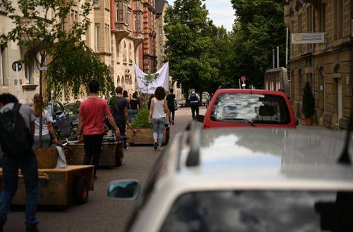 Stuttgarter Wanderbäume starten in das zweite Jahr