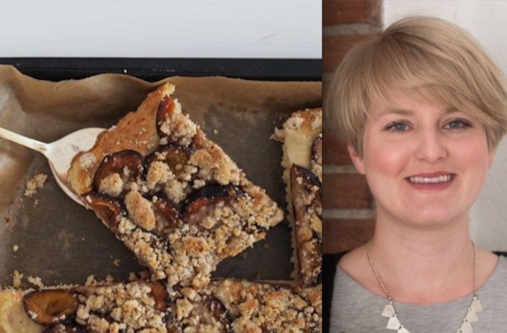 Bloggerin Jasmin Schlaich gibt diesmal das Rezept für den Zwetschgen-Kuchen ihrer Oma preis. Foto: Jasmin Schlaich