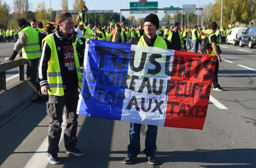 Gelbe Revolte gegen Emmanuel Macron