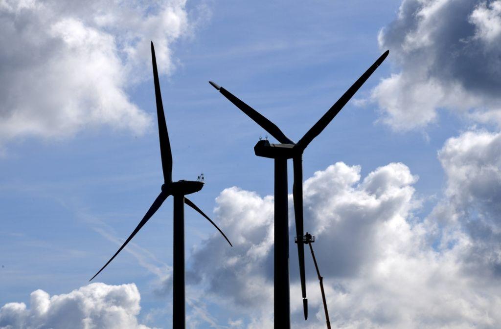 Windräder tangieren den Natur- und Landschaftsschutz. Foto: dpa