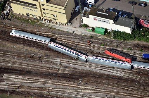 Zugunglück: Lokführer bedauert Fehler
