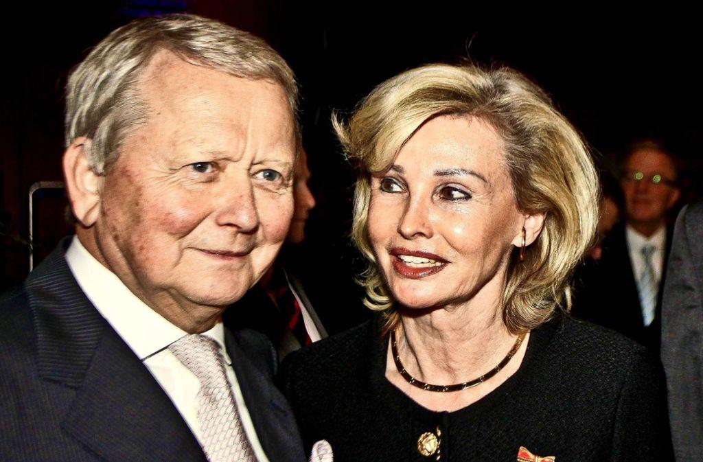 Wolfgang Porsche und Claudia Hübner sind seit zwölf Jahren ein Paar. Foto: Peter Petsch