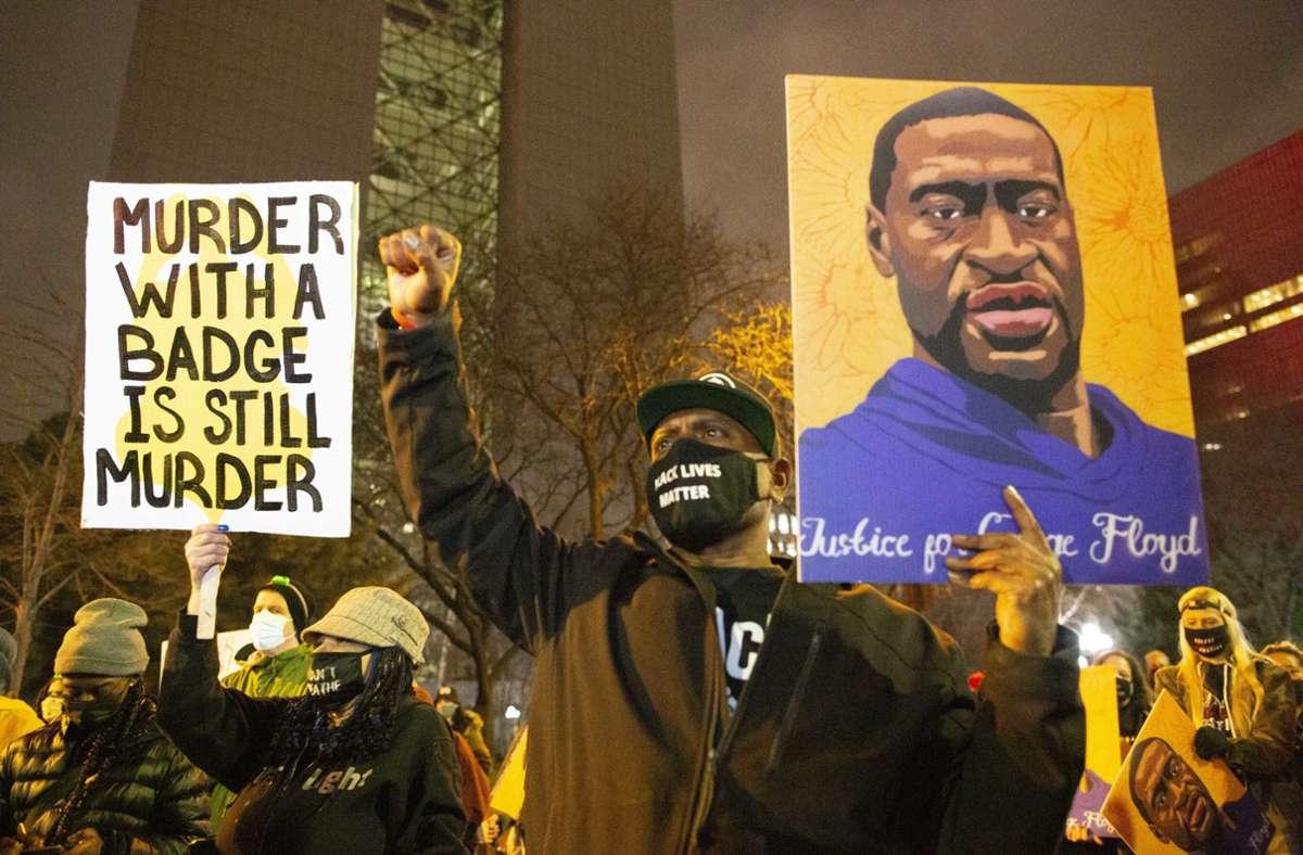 Der Prozess gegen den weißen Ex-Polizisten Derek Chauvin wegen der Tötung des Afroamerikaners George Floyd steht vor dem Abschluss. Foto: dpa/Henry Pan